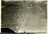 [German aerial reconnaissance photograph of Manesel and surrounding forest, Moulainville, France, 10-17-1917].