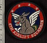 4th Airlift Squadron shoulder sleeve insignia